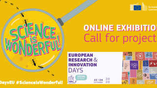 Science is Wonderful! 2020 #MSCA online exhibition is now open for applications