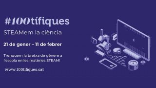 #100tífiques: promoting female scientific talent in schools for 11F