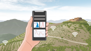 SENSORAÏM project develops proof of concept dataloggers using thermoelectrics to monitor vineyards