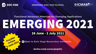 You can now register for EMERGING 2021, the DOC-FAM School