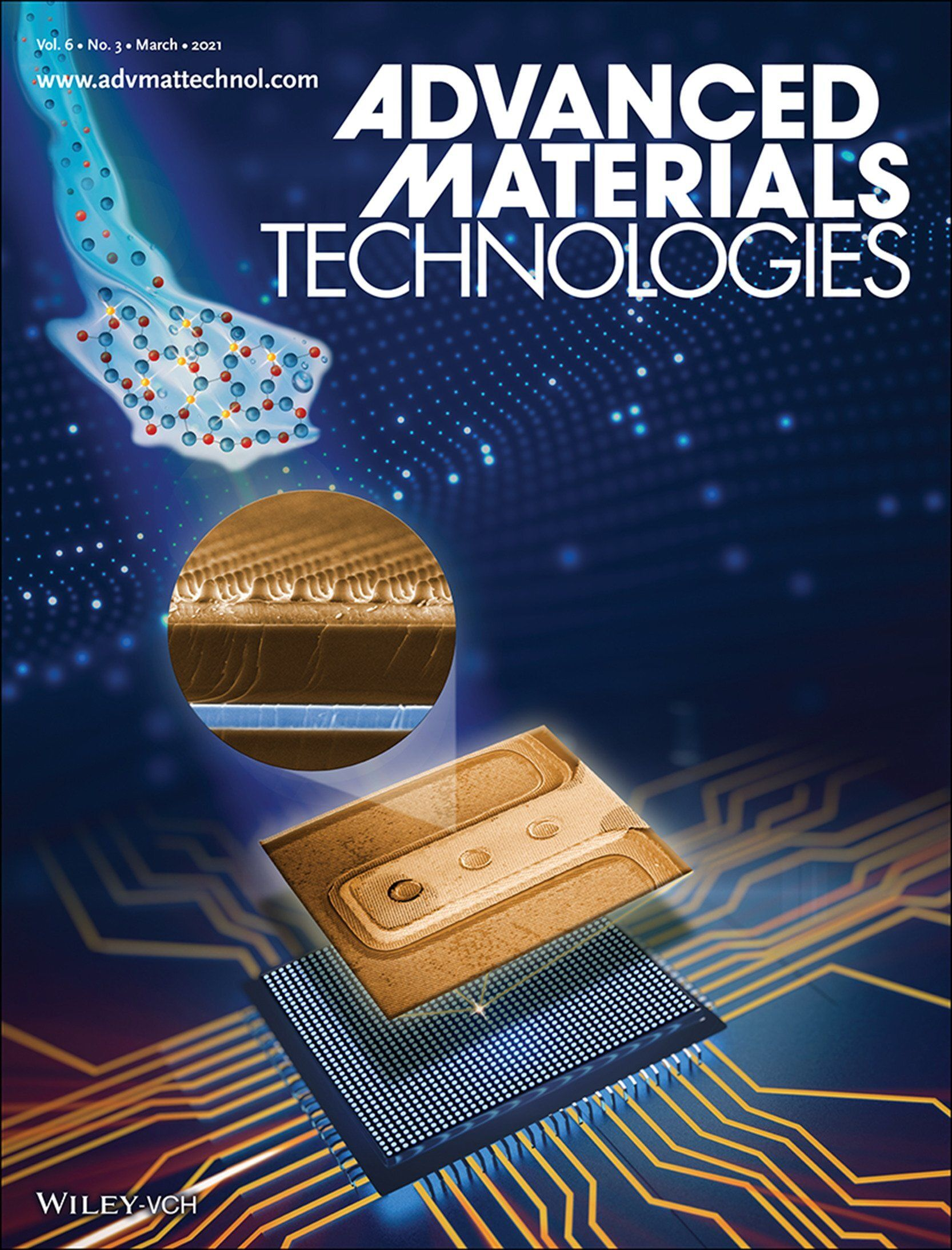 Cover in Advanced Materials Technology